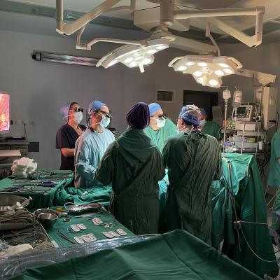 Η πρώτη ενδοσκοπική καρδιοχειρουργική επέμβαση στο Ιατρικό Διαβαλκανικό Θεσσαλονίκης πραγματοποιήθηκε από τον Δρ. Αντώνιο Πίτση και την ομάδα του.