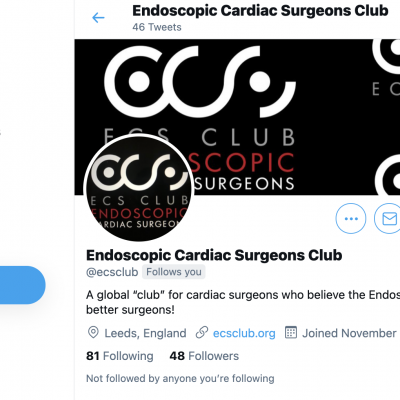 Endoscopic Cardiac Surgeons Club @ecsclub